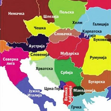 karta evrope 2030 Политика Online   Велика Албанија, Мала Британија, скраћена Србија karta evrope 2030