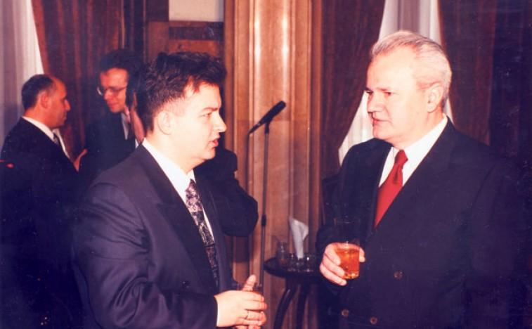 Foto Politika Ivica Dačić Slobodan Milosević