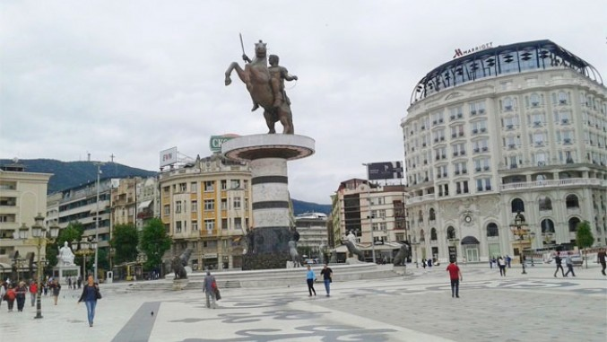 Na Spomeniku Aleksandru Velikom U Skoplju Pise Da Je Grk