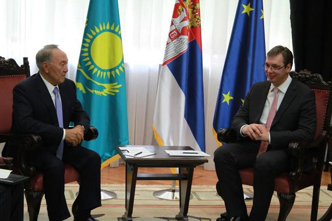 Премьер Сербии находится с официальным визитом в Казахстане