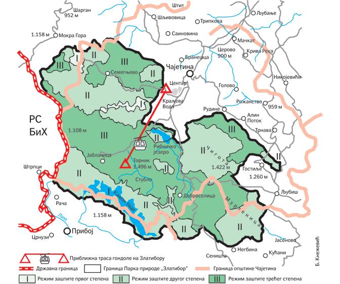 Park Prirode Zlatibor Nece Zaustaviti Gradnju Gondole
