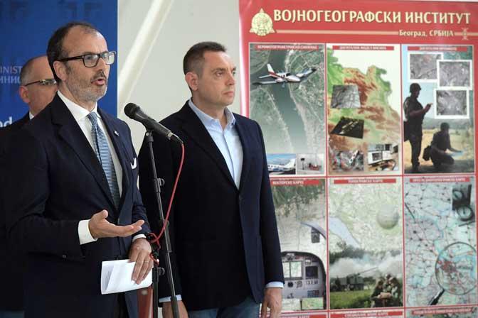 geodetski zavod srbije mapa LiDAR tehnologija za izradu mapa rizika od poplava geodetski zavod srbije mapa