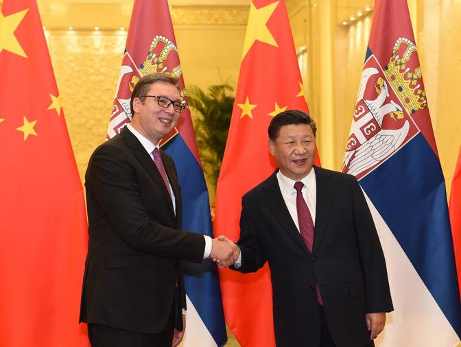 Састанак Вучића и Сија, потписана два споразума