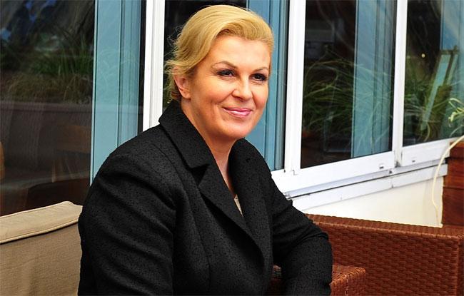 Predsjednica o zaustavljanju migrantskog vala: Naravno da je potrebno malo sile Kolinda-tanjug