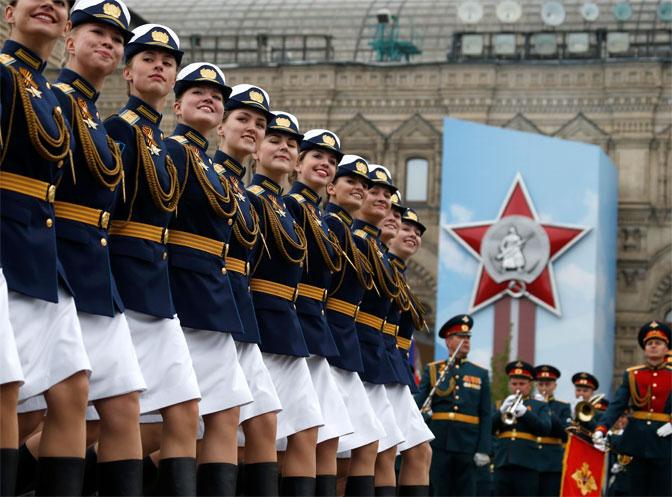 Vojna parada u Moskvi, Putin čestitao Dan pobede