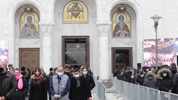 Србија се опростила од патријарха Иринеја